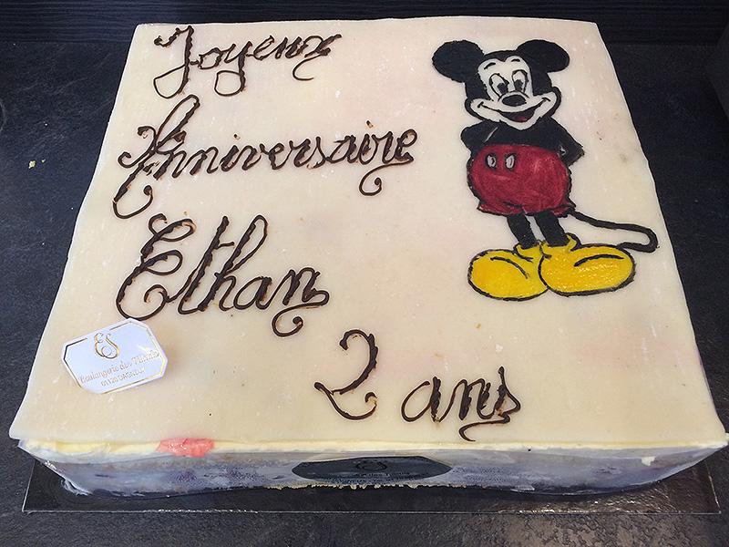 """Gâteau FRAMBOISIER """"Mickey"""""""