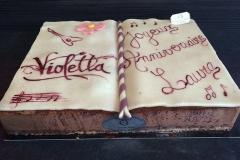 "Entremet ROYAL anniversaire""Violetta"""